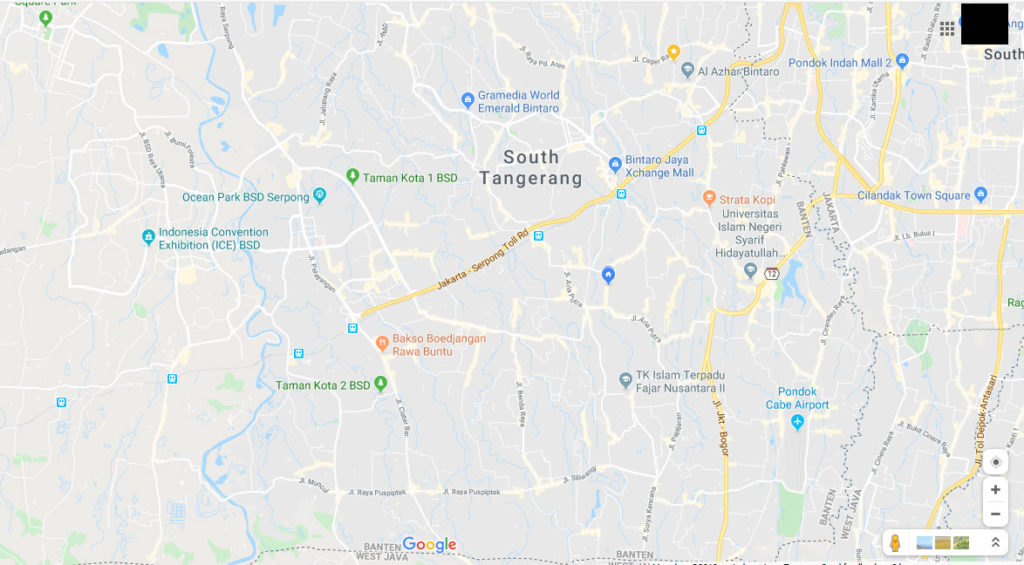 Posisi Kopyorid cabang Tangerang Selatan